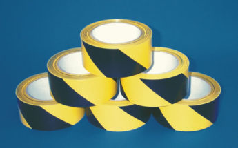 Hazard Warning Tape – 50mm(w) x 33M