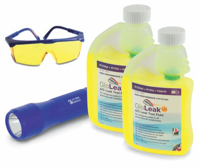Air-Con GloLeak U.V Leak Detection Fluid Kit