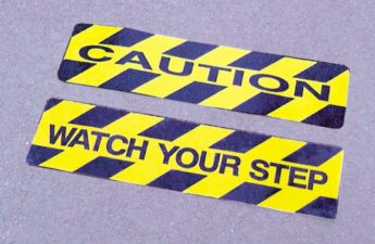 Anti-Slip Floor Sticker – WATCH YOUR STEP