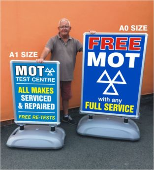 Large Format Poster Sign