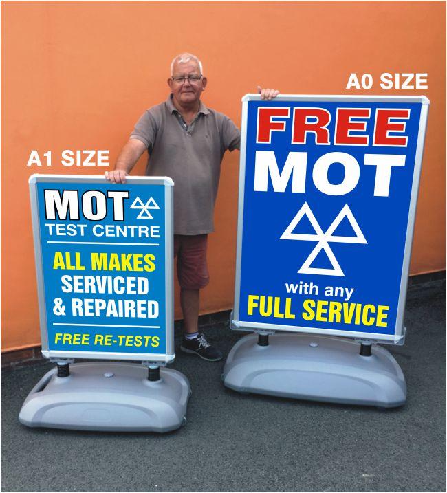 Large Format Poster Sign