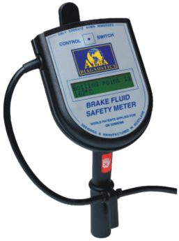 Brake Fluid Safety Meter by Alba Diagnostics