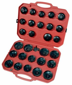 Oil Filter Cup Wrench Set – 30 piece