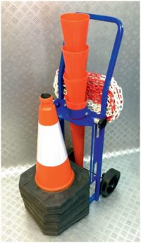 Hazard Area 4 Cone & Chain Trolley System