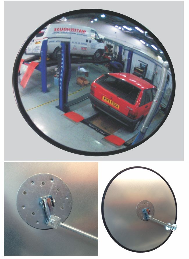 Convex Mirror High Quality Low Distortion