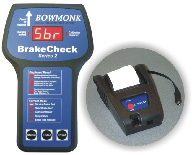 Bowmonk Electronic Portable Brake Test Meter