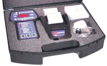 Bowmonk Brake Test Meter Kit – with Printer & Case