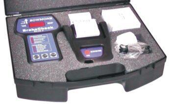 Bowmonk Brake Test Meter Kit – with Printer & Case