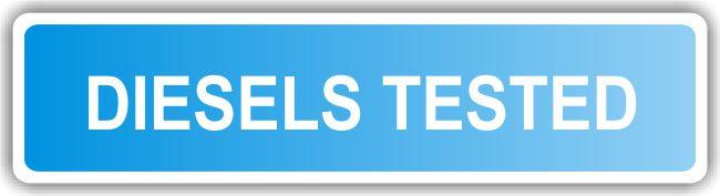 MOT Sign – Diesels Tested – REFLECTIVE