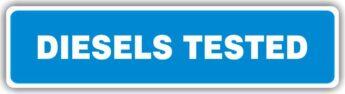 MOT Sign – Diesels Tested – HEAVY DUTY