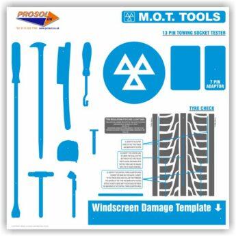 ProStore MOT Tool Shadow Board ONLY
