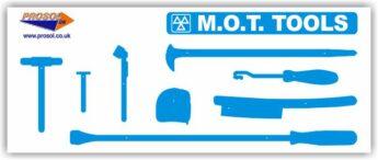 MOT Tool Storage Shadow Panel – BOARD ONLY