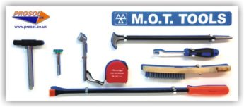 MOT Tool Storage Shadow Panel Board – WITH TOOLS