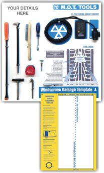 ProStore MOT Tool Shadow Board with Tools