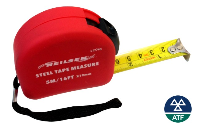 Tape Measure – 5 metre (17ft) – steel