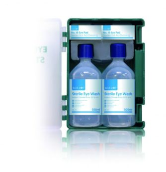 Eye Wash Station with 2 x 500ml bottles