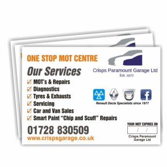 MOT Certificate Wallets with Inserts (500)
