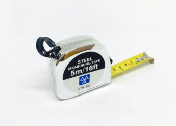 Tape Measure – 5 metre (16ft) – STEEL