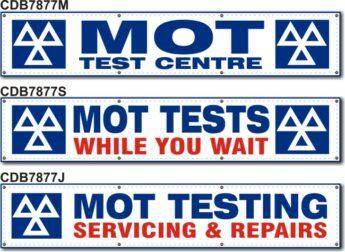MOT Banners