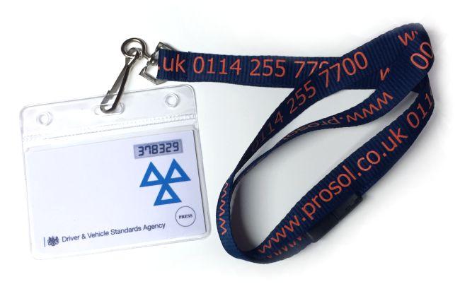 MOT Security Card Holder
