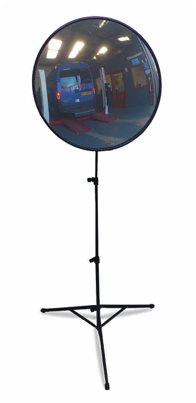 Floor Standing Convex Viewing Mirror 450mm