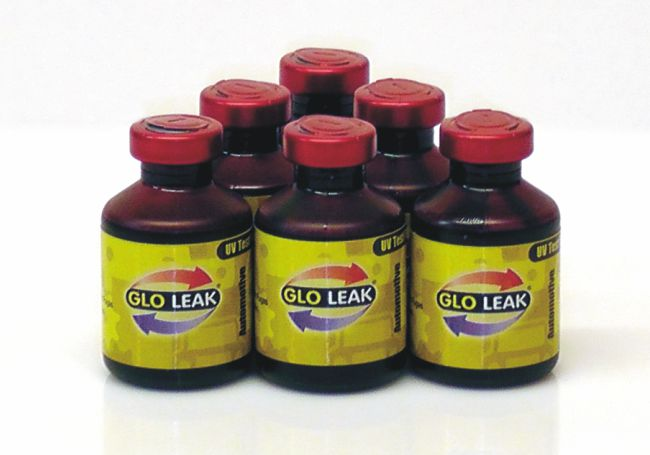 U.V. Leak Detection Glo-Leak Fluid – for Oils 6 x 25ml Bottles