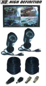HD Camera CCTV Viewing System