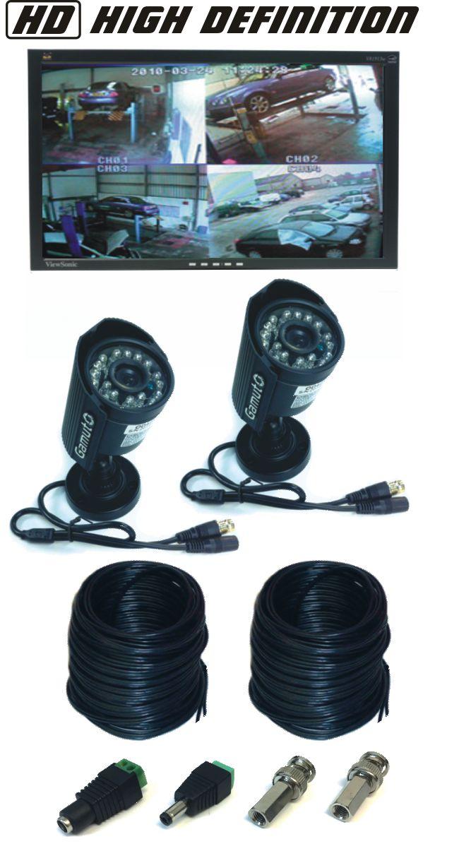 HD Camera CCTV Viewing System