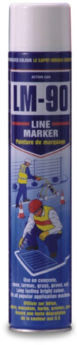 Line Marking and Stencil Paint WHITE (750ml)