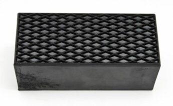 Rubber Riser Block LARGE – 70mm high – PER PAIR