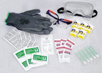 Replacement Products for Individual Personal Protective Equipment Kit Bag