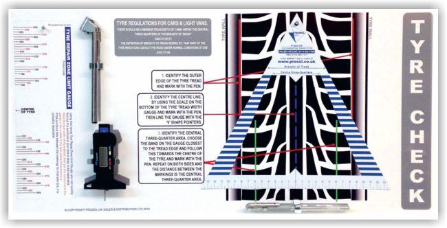 Tyre Check Board – DIGITAL