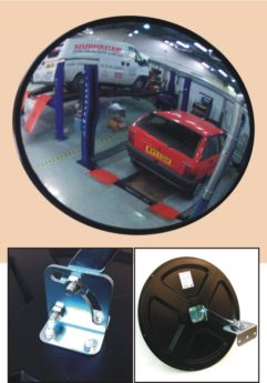 Convex Mirror for Workshop Viewing and Safety – 600mm