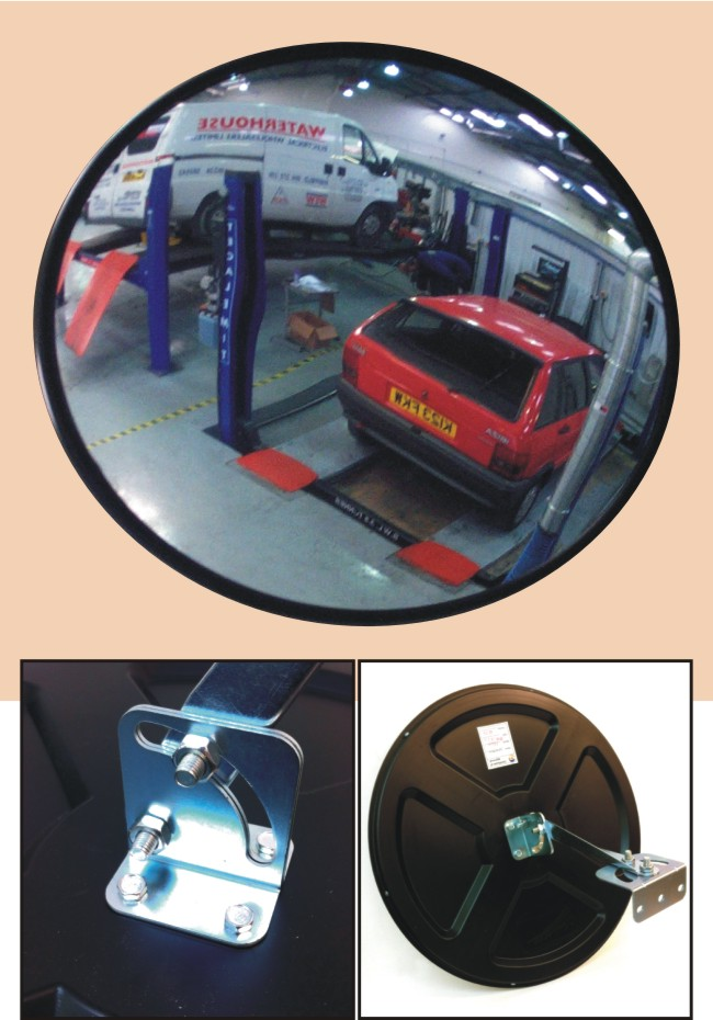 Convex Viewing Safety Mirrors