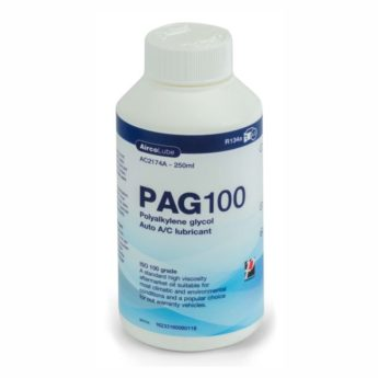 Air-Con MEDIUM Viscosity PAG 100 Oil -250ml Bottle