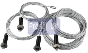 Laycock Lift Cables ZGL0140 High Speed G.P.O.  138465