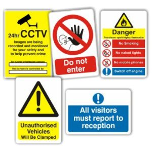 Workplace-signs