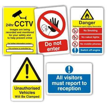 Workplace & Safety Signs