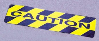 Anti-Slip Floor Sticker – CAUTION