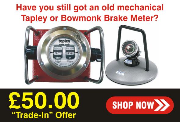 Tapley Brake Meter Upgrade Offer