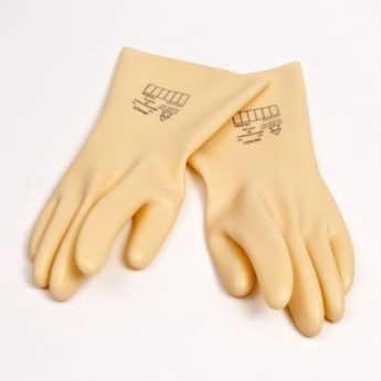 Class 0 Electrical Insulating Safety Gloves – LARGE