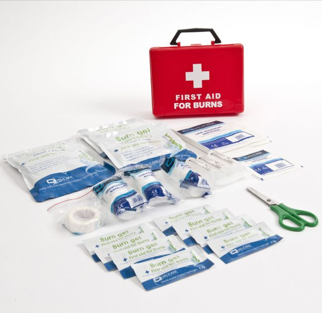First Aid Kit for Burns