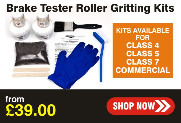 Brake Tester Roller Gritting Kits