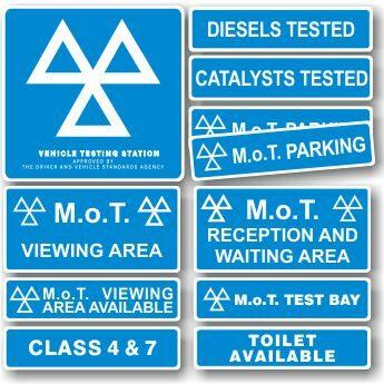 MOT Signs