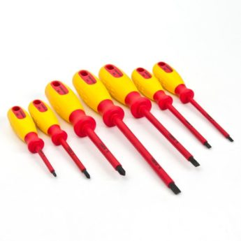 VDE Certified Insulated Screwdriver Set 7pc