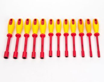 VDE Certified Insulated Nut Spinner Set 12pc
