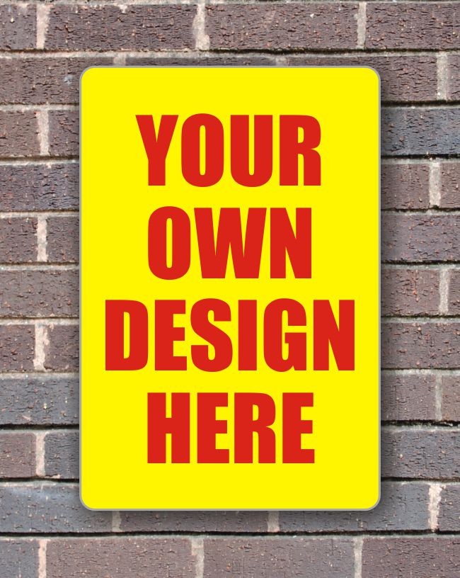 Sign Panels for Wall Mounting – Custom Design