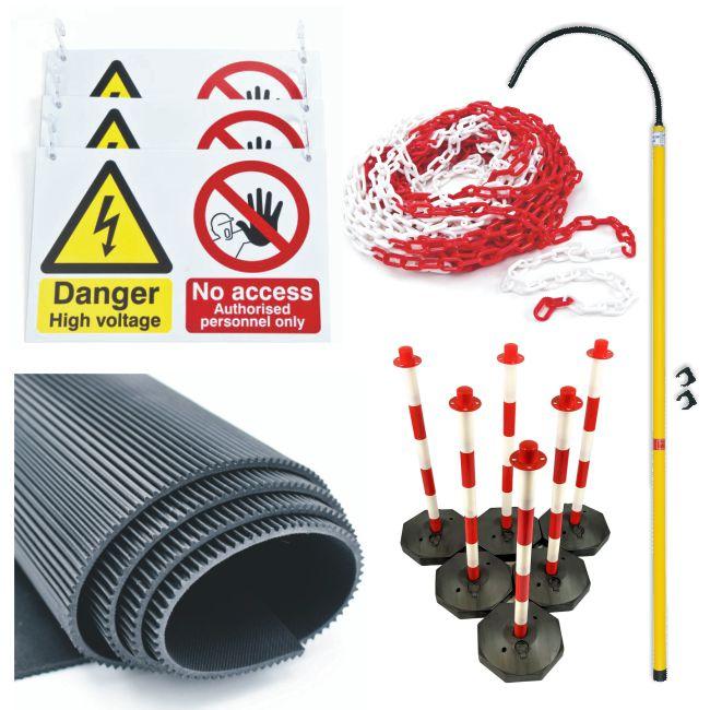 EHV Workshop Safety – Starter Pack (Plastic Posts & Bases)