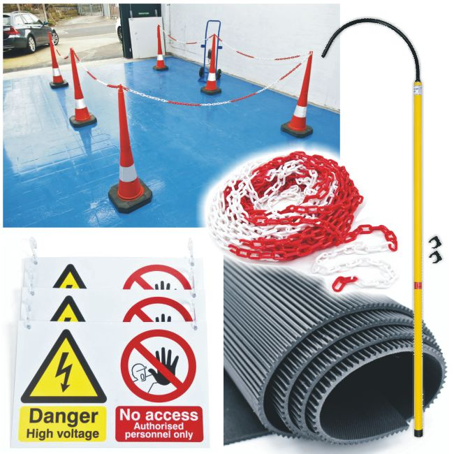 EHV Workshop Safety – Starter Pack (Extended Cones)