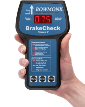 Bowmonk Brake Tester – BrakeCheck Series 2 MTS Connectable – DVSA Approved